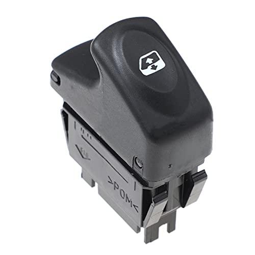 WANGXI Botón del Interruptor de Control delelevalunaseléctrico del Coche,para RenaultKangoo 1997-2003,7700838100 7700838099 7700429998