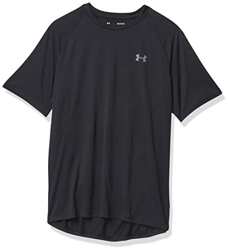 Under Armour Men's Tech 2.0 Short-Sleeve T-Shirt , Black (001)/Graphite , Large