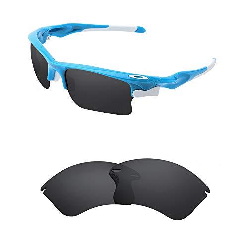 Oak&ban polarisierte Ersatzgläser für Oakley Fast Jacket XL Sonnenbrille Gr. onesize, Schwarz - polarisiert