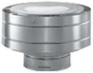 Dura-Vent 58DVA-VC 5 x 8 DirectVent Pro Aluminum Low Profile Termination Cap