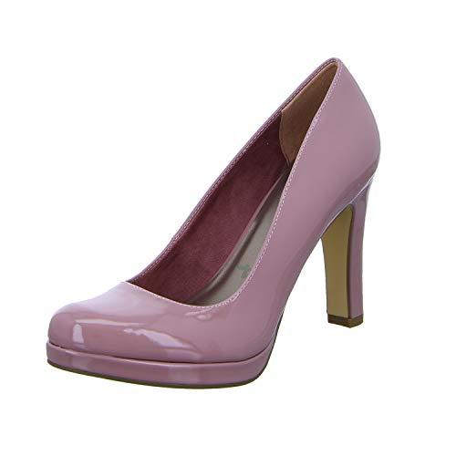 Tamaris Damen 1-1-22426-22 522 Pumps, Pink (MAUVE PATENT 522), 36 EU