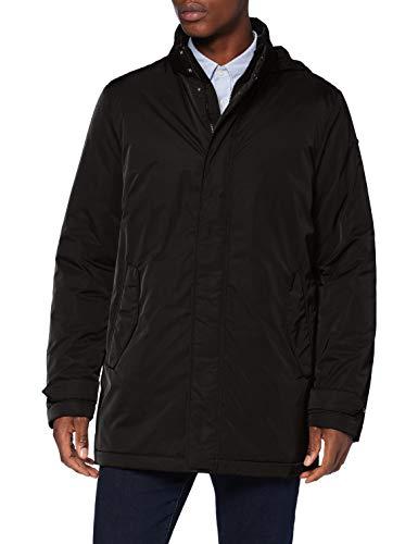 Geox M SESTIERE Coat (M04 Parka, Negro, 58 para Hombre