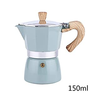 Junlinto Italian Moka Espresso Coffee Maker Percolator Stove Top