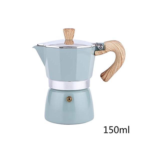 Junlinto Italian Moka Espresso Coffee Maker Percolator Stove Top