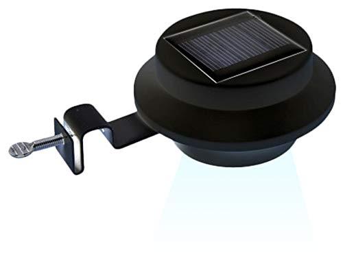 3 x Lampe Solar mit Halter für Regenrinne Solarlampe LED Gartenlampe Wohnmobil