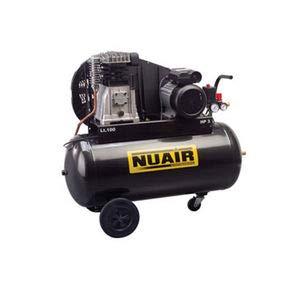Compressore d\'aria a pistone 150 litri motore monofase da 3 CV NUAIR