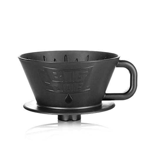 Big Joe Coffee - Extra Large Pour Over Coffee Maker, Dripper Funnel Cone, 75 Ounces