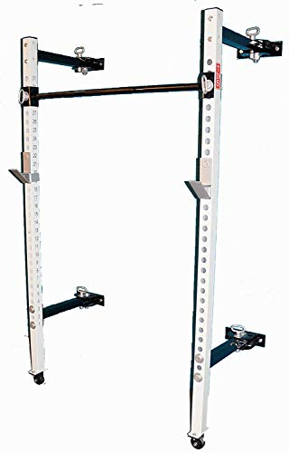 TDS Mega Fold Back 2' Power Rack 21.5' Deep Wall Mount with...