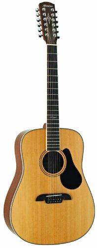 ALVAREZ 310259 AD60-12 Dreadnought 12-String Gitarre