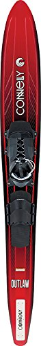 Connelly Outlaw Waterski 67', Swerve l/X-Large (Sz 9-14) with Rear Toe Strap
