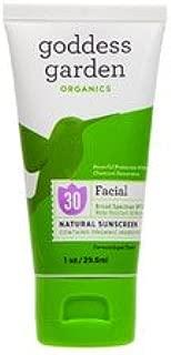 Goddess Garden, Organics, Facial, Natural Sunscreen, SPF 30, 1 oz (29.6 ml) - 2pc