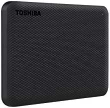 Toshiba Canvio Advance 1TB Portable External Hard Drive USB 3 0 Black HDTCA10XK3AA product image