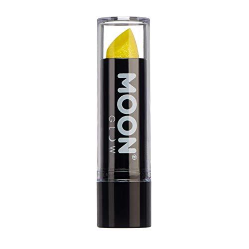 Moon Glow - 5g Neon UV Glitzer-Lippenstift - Gelb - Leuchtet hell in UV-Licht