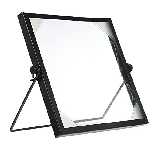 MILISTEN Metalen Drijvende Geperst Glas Fotolijst Glazen Kunstwerk Pressed Flower Display Frame Met Metalen…