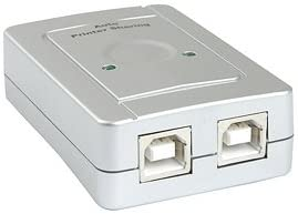 Premium USB2.0 True Automatic Sharing Switch - 2 Computers shares 1 USB device such as a priter, scanner, USB Hard drives,...