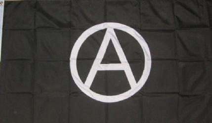 Anarchy Punk Flagge, 90 x 60 cm
