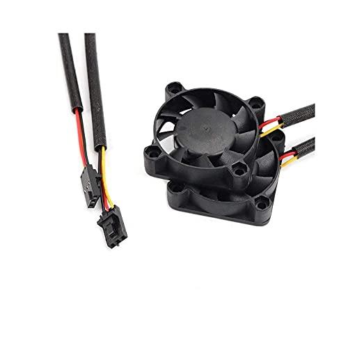 JRUIAN Accesorios de Impresora 10 Piezas para Prusa i3 MK3 Piezas de Impresora 3D Super Silent 4010 Ventilador de refrigeración 4010 Ventilador de cojinete hidráulico 5V 40 40 10 Componentes