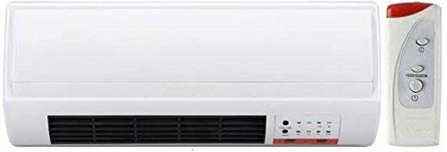 Jocel NSBK-200WS2 Calentador cerámico de pared, 2000 W, Blanco