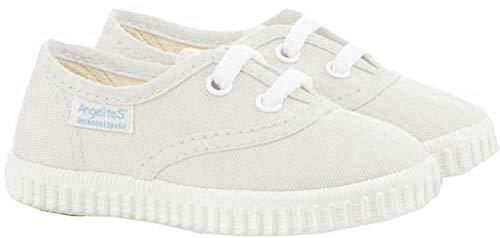 Zapatillas de Lona para Niños y Niñas, Angelitos mod.121, Calzado infantil Made...