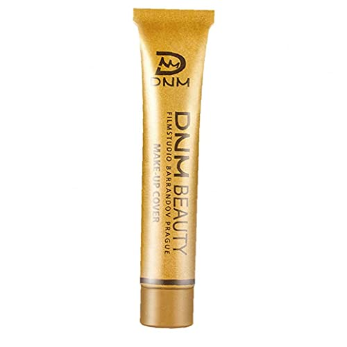 EElabper Corrector de Maquillaje de Larga duración del Maquillaje de Cobertura Total Fundación Suave Corrector en Crema de 14 Colores Cubrir el líquido Corrector Rosa