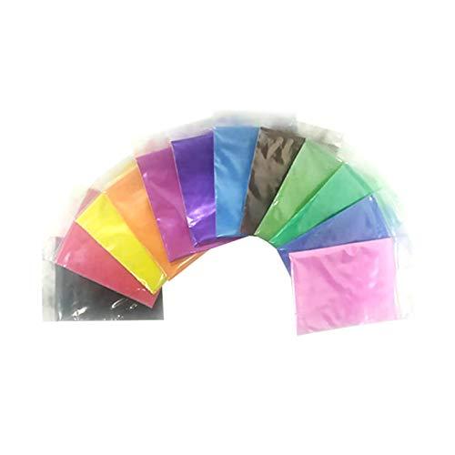 Urstory1 3 colores/12 colores permanente teñido en polvo, decoración de tela Kit de...