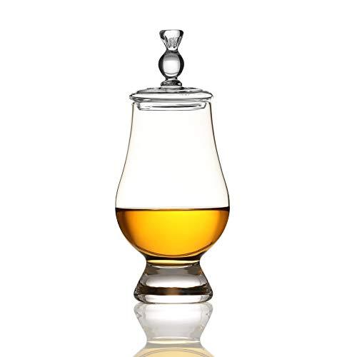 Eburya Angels' Share & Glencairn - Whisky Glas & Tasting Cap - Schottische Distel