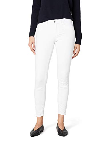 ONLY Onlkendell Reg Sk Ank Jea Cre-white Noos, Jeans Mujer