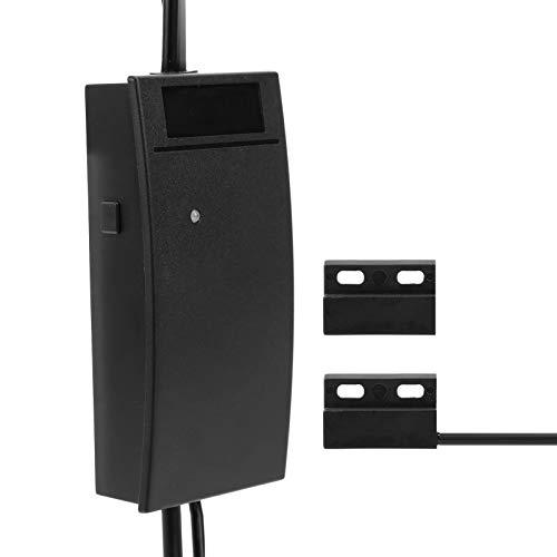 Pwshymi Controlador de puerta de garaje WiFi Control remoto ABS plástico abridor de puerta de garaje, puerta de garaje abierta, para Android/(regulación británica)