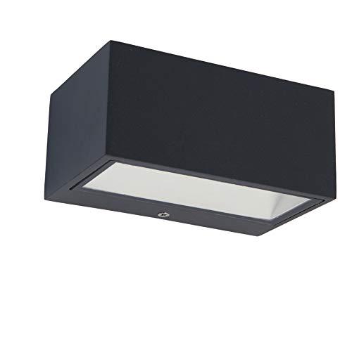 LED-Außenwandleuchte GEMINI von LUTEC, Warmweiß, Up- & Downlight
