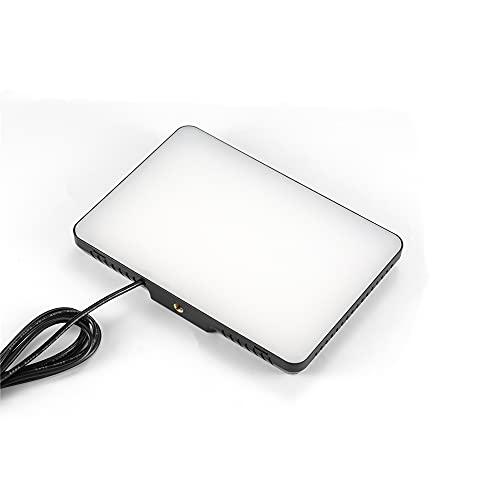 Luz de Video LED USB de 5600K Regulable con filtros de Color Ajustables para Tomas de Mesa/de ángulo bajo, iluminación LED Colorida, Retrato de Producto, fotografía de Video de Youtube