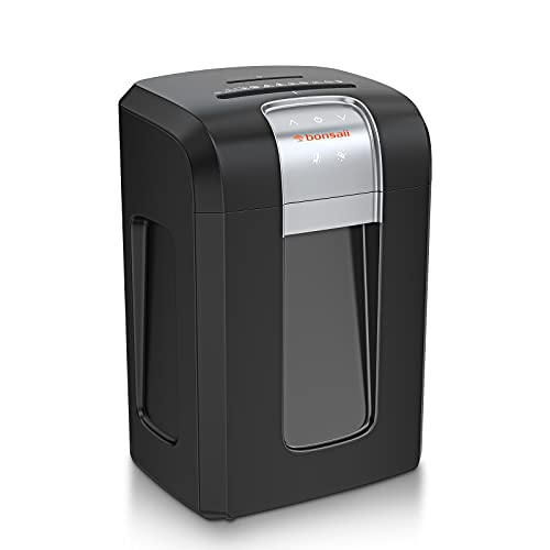 Bonsaii 240-Minute Heavy Duty Paper Shredder, 18-Sheet Cross-Cut for CDs/Credit Cards with Jam Proof...