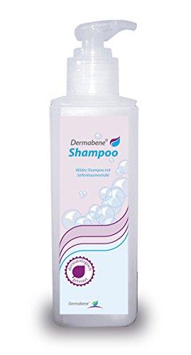 Dermabene® Shampoo - Haar- und Kopfhaut-Reinigung bei Schuppen und fettigen Haaren reduziert Entzündungen, das Nachfetten der Haut und Schuppenbildung