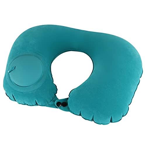 XIXIDIAN Almohada de viaje, almohada del cuello de viaje para el avión de la memoria de la memoria de la memoria de la espuma de espuma de espuma con bolsa de almacenamiento, máscara de sueño y tapone