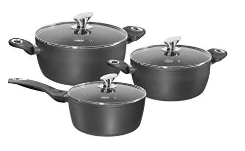 Stoneline Gourmundo Batterie de Cuisine 6 pièces