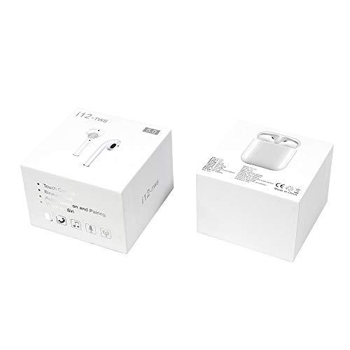 True Wireless Earphones Stereo Sound In-Ear-Kopfhörer schweißfest Bluetooth 5.0 Micro-USB Touch Control Automatische Kopplung 4 Stunden Akku Mikrofon