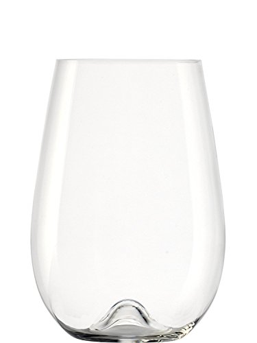 Stölzle Lausitz Vulcano Weinbecher groß 705 ml I Weißweingläser 6er Set I Weingläser ohne Stiel spülmaschinenfest I Weißweinbecher Set bruchsicher I wie mundgeblasen I höchste Qualität
