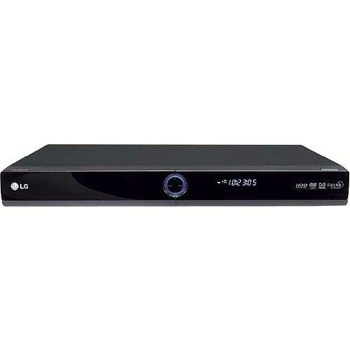 LG RHT 497 H DVD-Rekorder mit 160 GB Festplatte (DVB-T Tuner, DivX-Zertifiziert, HDMI, Upscaler 1080p, USB 2.0) schwarz