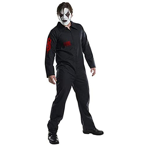 YXRL Herren Slipknot Band Kleidung Cosplay Overall Fancy Dress Kostüm Halloween Kleidung Black-190