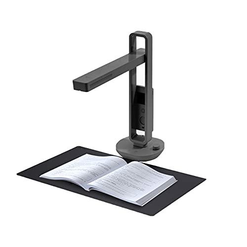 Scanner per Documenti, CZUR Aura Mate Pro Scanner per Libri, Portatile Document Camera con 16MP Doppia Fotocamera AI Tecnologia WiFi Promemoria Postura 180+Lingue OCR per Win7 8 10, XP, MacOS 10.11
