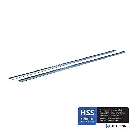 HSS Hobelmesser Wendemesser 306mm für Makita 2012 2012NB (1 Satz = 2 Hobelmesser)