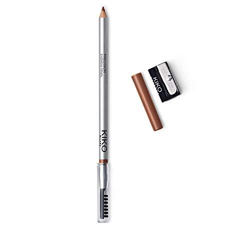 KIKO Milano Precision Eyebrow Pencil 05 | Matita per Sopracciglia con Formula Rigida di Microprecisione e Pettine Separatore