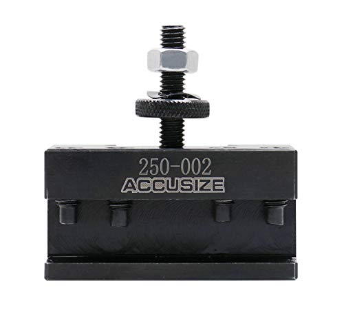 Accusize Industrial Tools Oxa Boring, Turning and Facing Tool Holder for Mini Lathe and 1/2'' Tools,...