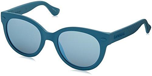 Havaianas Noronha Gafas de sol, Azul (Blue Aqua), 47 para Mujer