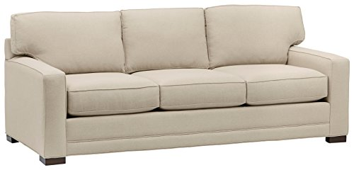 Stone & Beam Dalton Sectional Sofa Couch, 91.5'W, Stone