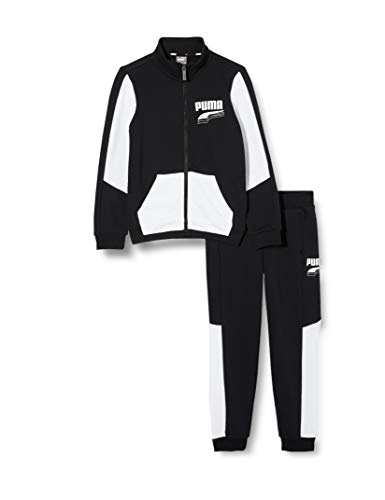 PUMA jongens Rebel Block Sweat Suit B Trainingspak