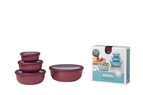 Mepal Set cirqula Frischhaltedosen 4-teilig (350+750+1250+2250) -Nordic Berry