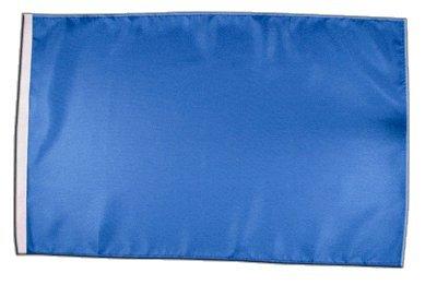 Fahne Flagge Einfarbig Blau 30 x45 cm