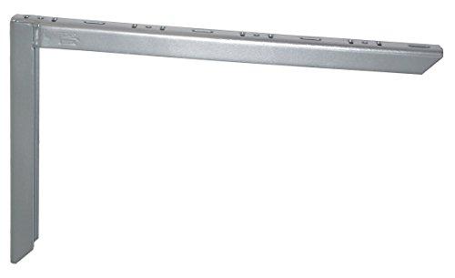 Element System 18133-00164 Schwerlastträger / 2 Farben / 3 Größen / 2 Stück / weißaluminium / 250 x 400 mm