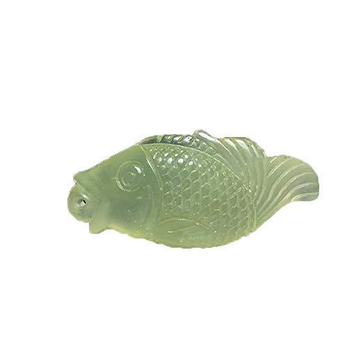 Alte Hsiuyen Jade Es gibt Fisch Antike Anhänger Sammlung Figur/Geschenke/Büro/Ornament/Kunsthandwerk/Wohnaccessoires