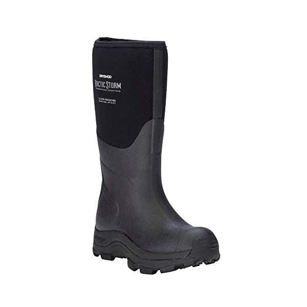 Dryshod Womens Arctic Storm Hi Waterproof Work Work Safety Shoes Casual – Black